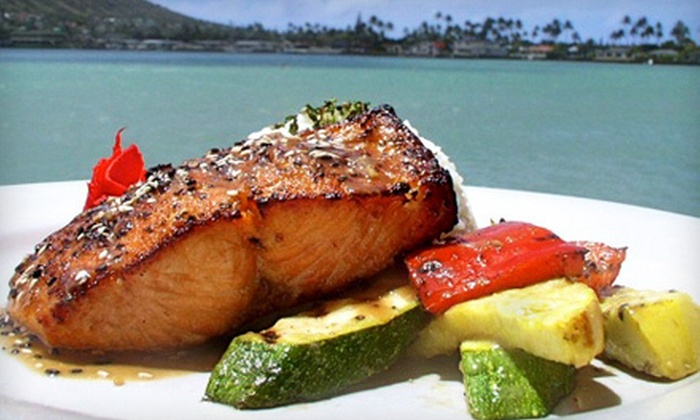 BluWater Grill - Hawaii Kai,Portlock: $30 for $60 Worth of Pacific Rim Fusion Food and Drinks at BluWater Grill