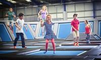 One-Hour Trampoline Session for Two at Air Space (Up to 54% Off)