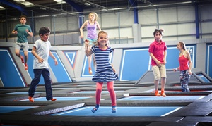 Air Space: One-Hour Trampoline Session for Two at Air Space (Up to 54% Off)