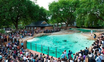 Londres: 1 a 3 noches con entrada al zoo para familia de 2 a 4 personas en Hampton by Hilton Docklands Hotel 4*