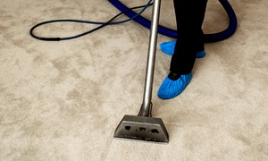 Serious City Services: Carpet Cleaning for Up to Three Rooms with Optional Stairs and Landing with Serious City Services