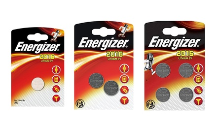 1 lot de 1, 2 ou 4 piles boutons Energizer CR2016 pour appareil photo, calculatrice, montre, traducteur  (SaintEtienne)