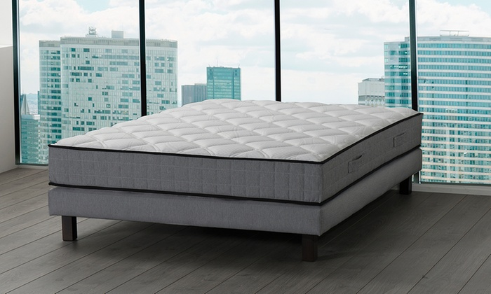 matelas horizon ii m moire de forme groupon shopping. Black Bedroom Furniture Sets. Home Design Ideas