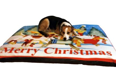 Coussin géant pour chien design Noel, 2 tailles au choix dès 29,90 € (jusqu'à 37% de réduction) livraison offerte