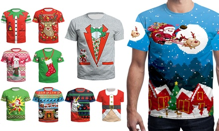 $19 for a Men's Novelty Christmas T-Shirt