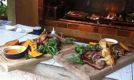 Menu gourmand en 5 services pour 2 personnes à 49 € au restaurant Le Moulin de la Sambuc