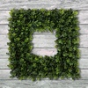 Boxwood and Grass Wreaths