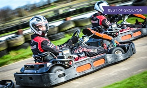 Whilton Mill: 30 Laps of Go-Karting for Up to Six People at Whilton Mill