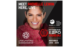 Dubai Fitness Expo: Fitness Expo Dubai: One-Day Child (AED 35) or Adult (AED 99) Ticket, or Three-Day Family Pass (AED 349) (Up to 34% Off)