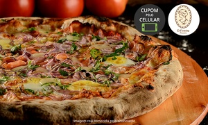 Dona Firmina Pizzaria: Dona Firmina Pizzaria – Indianópolis: 1 pizza salgada ou doce