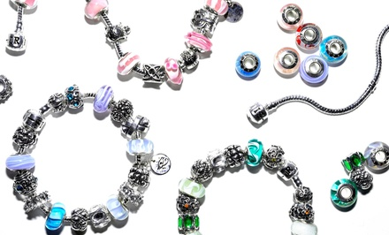 Custom Charm Bracelets from IRIS Beads & Charms (Up to 81% Off). Three Options Available.
