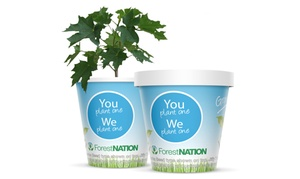ForestNation: $14 for a Family Earth Day Pack of Four Tree-Growing Kits from ForestNation ($28 Value). Shipping Included.