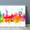 Up to 84% Off Splatter Cityscape Prints from Printerpix