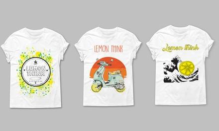 T-shirt Lemon-Think a 7,99euro