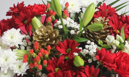 £15 for £30 Voucher to Spend on Christmas Bouquets