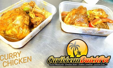 Caribbean Meal for Two or Four at Caribbean DutchPot