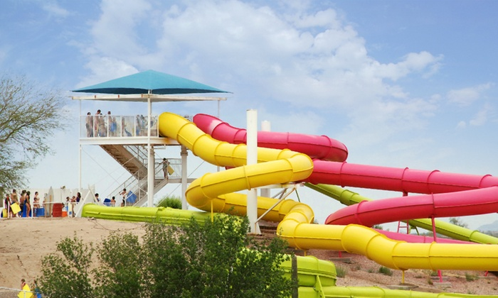 Breakers Water Park - Rillito Vista: Single-Day Visit with Soda and a Souvenir Cup for One, Two, or Four at Breakers Water Park (Up to 53% Off)