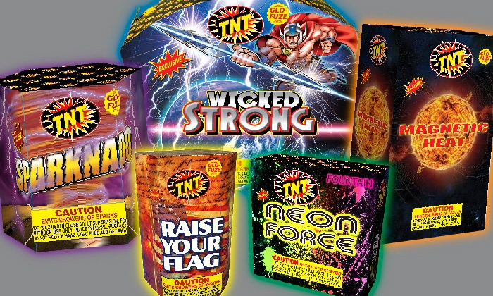 TNT Fireworks - Eugene $10 for $20 Worth of Fireworks at TNT Fireworks Stands u0026 & Fireworks - TNT Fireworks | Groupon