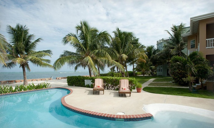 Luna Suites -   Ambergris Caye, Belize : 3-, 5-, or 7-Night Stay for Two in a One-Bedroom Beachfront Suite with Breakfast at Luna Suites in Belize