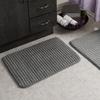 Memory Foam Woven Bath Mat Set (2 Piece)