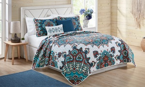 Reversible Quilt Set Collection (4- or 5-Piece)