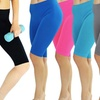 Women's Active Classic Knit Bike Shorts (6-Pack)