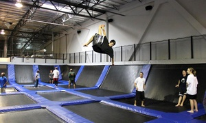 Up to 50% Off Services at EZAIR Trampoline Park & Laser Tag at EZAIR Trampoline Park & Laser Tag, plus 6.0% Cash Back from Ebates.