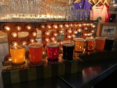 Tecumseh Brewing Company: 2 or 4 Flights, 1 or 2 TBC Magnets, and 1 or 2 Growler Fills at Tecumseh Brewing Company (Up to 54% Off)
