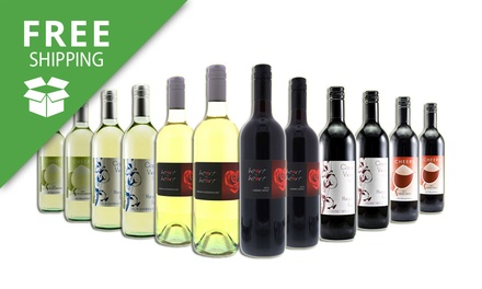 Free Shipping: $75 for a 12Bottle Red, White or Mixed Margaret River Wine Case Don't Pay $169