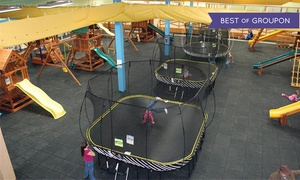 Recreations Outlet: Six Playground Visits or a Two-Hour Birthday Party for Up to 15 Kids at Recreations Outlet (Up to 54% Off)