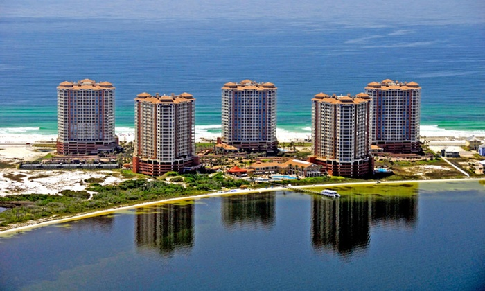 Portofino Island Resort - Pensacola Beach, Florida: 2-Night Stay in a Two- or Three-Bedroom Sky Home with Package Options at Portofino Island Resort in Pensacola Beach, FL