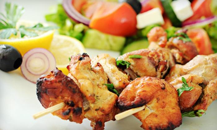 Cedar House Mediterranean Restaurant - Valley Village: Lebanese Food and Drinks at Cedar House Mediterranean Restaurant (Up to 52% Off). Two Options Available.