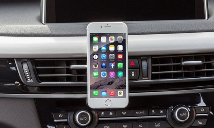 Universal Smartphone Magnetic Car Mount for Air Vent