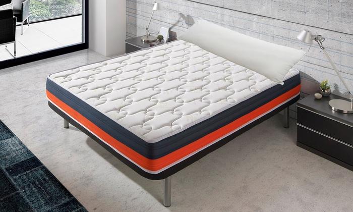 Pack somier + colchón + almohada | Groupon