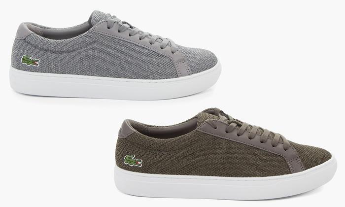 324329ab1891 Men s Pique Knit Lacoste Shoes