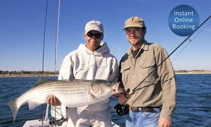 Blue Reef Fishing Charters: Half-Day Deep Sea Fishing Trip for 1 ($95), 2 ($185) or 14 ($999) with Blue Reef Fishing Charters (Up to $1,400 Value)