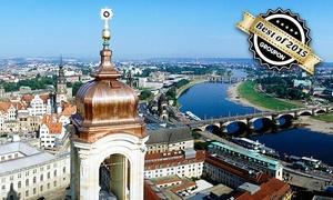 Frauenkirche Dresden: Kuppelaufstieg zur Aussichtsplattform der Dresdner Frauenkirche für 2 Personen oder 1 Familie (bis zu 41% sparen*)