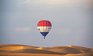 Sindbad Gulf Balloons: Hot Air Balloon Ride for One Child (AED 695), Adult (AED 789) or Two Adults (AED 1,557) with Sindbad Gulf Balloons