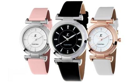 Reloj SC Crystal Paris adornado con cristales de Swarovski®
