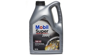 Motor Center Maintanence: Mobil Oil Service and Ecozone Odour Removal at Motor Center Maintenance (Up to 75% Off)