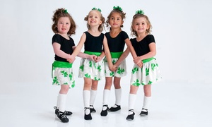 The Irish Dance Studio: One Week of Kinder Camp for Kids 3-6 or Dance Camp for Ages 7-13 (Up to 53% Off). Four Options Available.