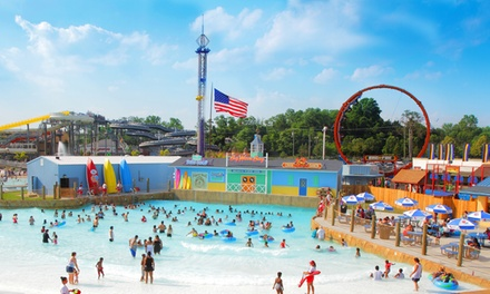 Two or Four Gold Season Passes with Option for Parking and Meals Clementon Park and Splash World (Up to 50% Off)