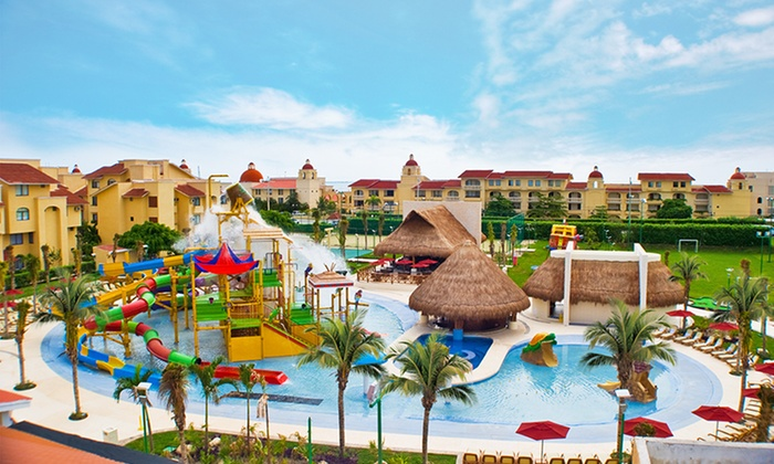 All ritmo canc n resort waterpark stay with airfare from for Round the world trips all inclusive