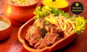 Restaurante Rural Terra do Meio: Filé na chapa ao molho de Jamburana para 2 ou 4 pessoas no Terra do Meio – Marituba
