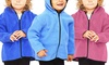 Precious Cargo Kids' Zip-up Fleece Hoodies