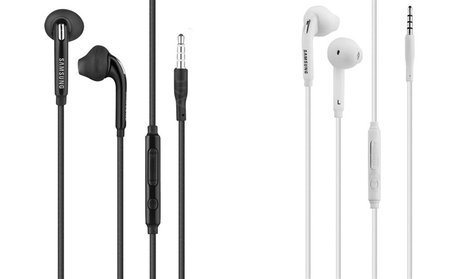Samsung Galaxy S6 Earbuds with In-Line Mic (1-, 2-, or 3-Pack)