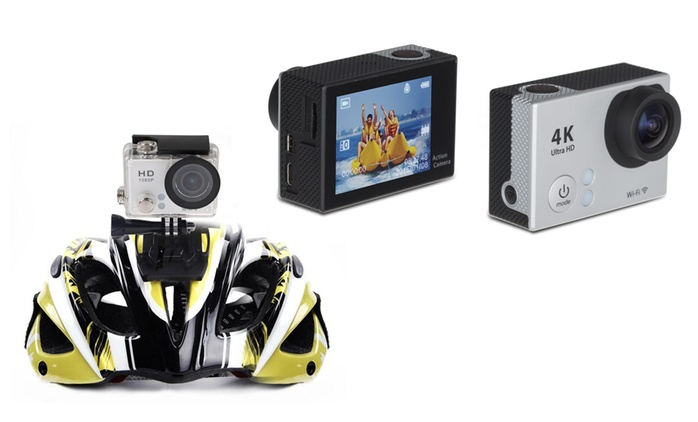 Tec+ Wi-Fi Action Camera from £29 With Free Delivery