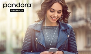 $0 for 3-Month Subscription to Pandora