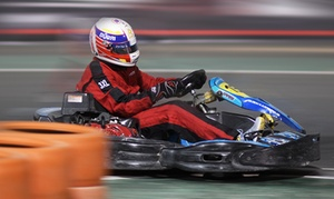 Kartdrome at Dubai Autodrome: Indoor Go-Karting and Laser Tag for One, Two, Four or Ten at Kartdrome at Dubai Autodrome