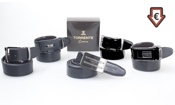 47d78d7a3282 Ceinture en cuir Torrente Couture   Groupon